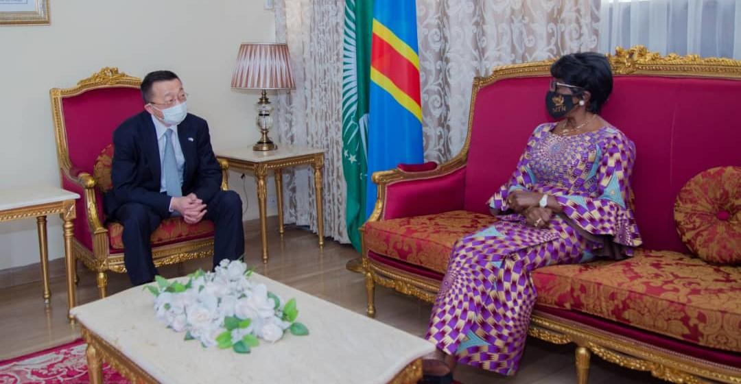 Fin mandat, l'ambassadeur du Japon quitte la RDC