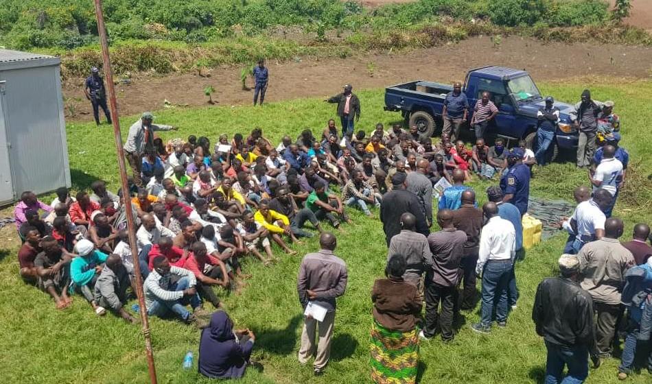 Goma :139 interpellations lors d'un bouclage FARDC/PNC