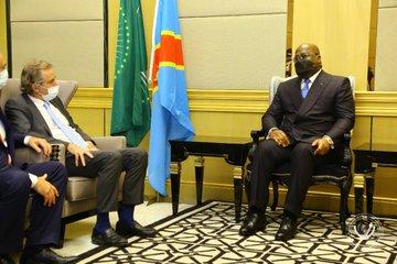 Un émissaire d'Emmanuel Macron auprès de Félix Tshisekedi
