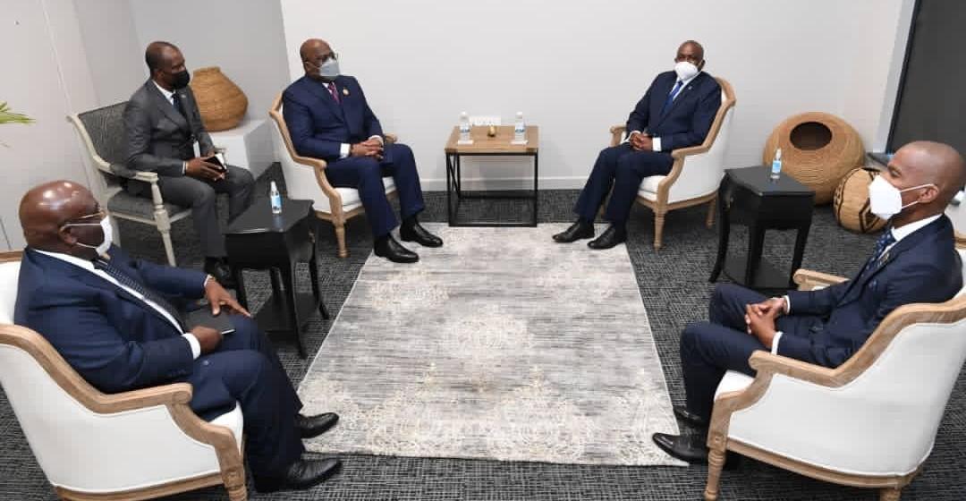 Félix Tshisekedi à Gaborone pour le sommet de la SADC