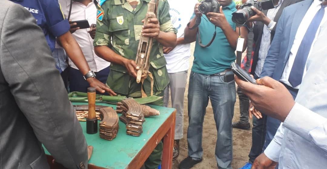 Goma: un militaire trafiquant d'armes arrêté