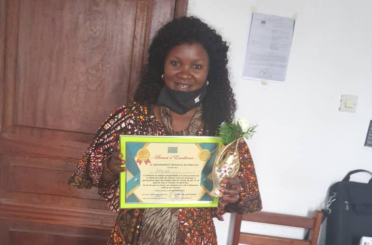 Nord-Kivu : AMEAD reconnue pour sa contribution à la mise en oeuvre de la résolution 1325 des Nations-Unies