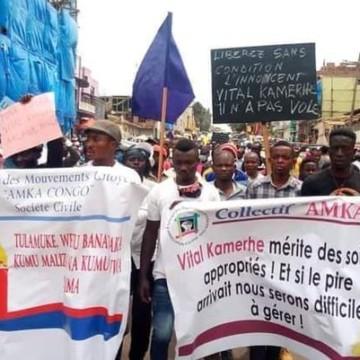 Sud-Kivu : Le collectif Amka Congo exige la libération et l'évacuation immédiate de Vital Kamerhe