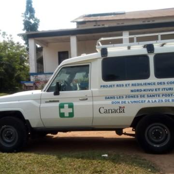 Nord-Kivu: la zone de santé de Beni dotée d'une ambulance médicalisée