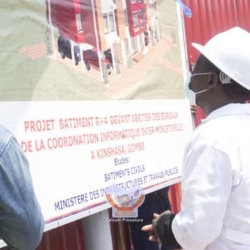 Lancement de la construction du bâtiment de la Coordination informatique interministérielle