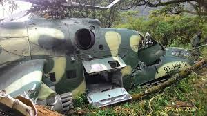 Bunia : un hélicoptère des FARDC atterrit en catastrophe dans un champ de manioc