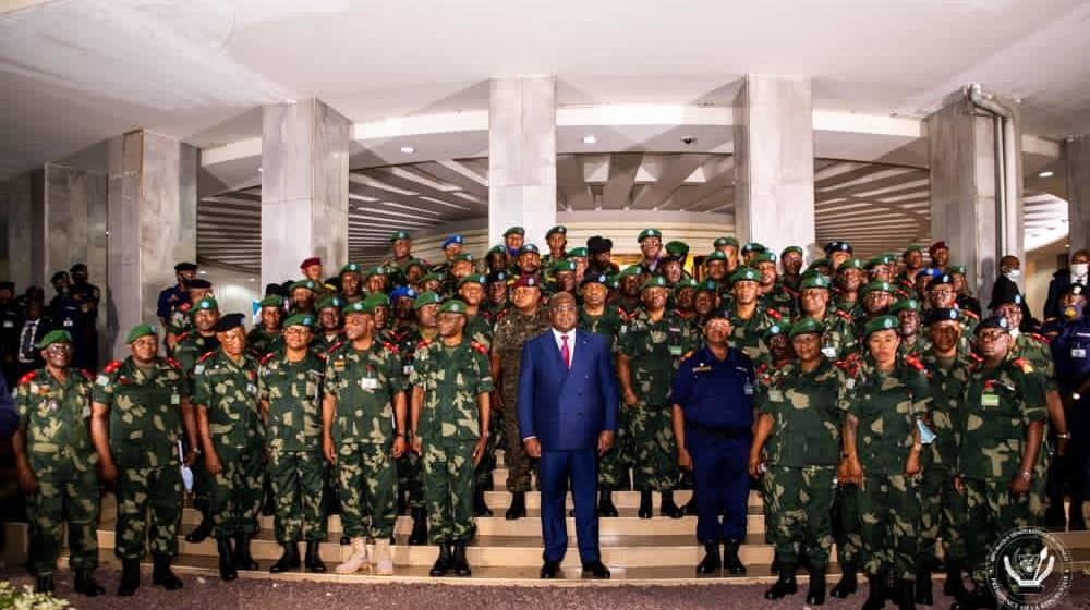 Le Lieutenant-Général Luboya Nkashama Johnny et Le Lieutenant-Général Constant Ndima Kongba, nommés à la tête du Nord-Kivu et de l'Ituri