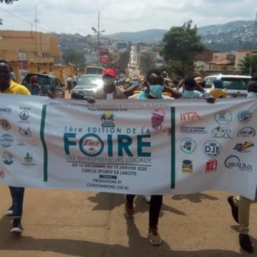 Sud-Kivu : la synergie des entrepreneurs de l'Agro-pastoral dans la rue pour la défense des produits locaux