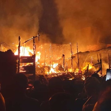 Goma:  4 membres d'une famille périssent dans un incendie au quartier Mikeno