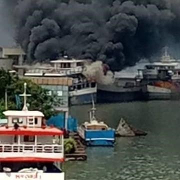 Sud-Kivu : 2 bateaux ont pris feu sur le lac Kivu