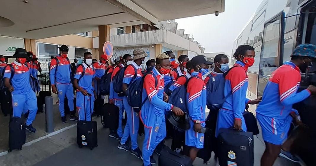 Les Léopards A' de la RDC à Douala depuis jeudi 14 janvier