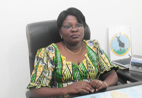Rosette Saïba Lwanzo DG de l'ONT aux arrêts