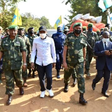 Nord-Kivu: Le gouverneur de la province dans une mission sécuritaire et humanitaire à Beni