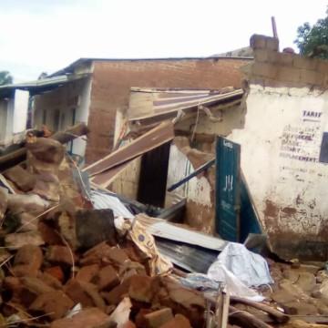 Urgent: 2 morts et 116 maisons détruites à Moba, frappée par une tempête meurtrière