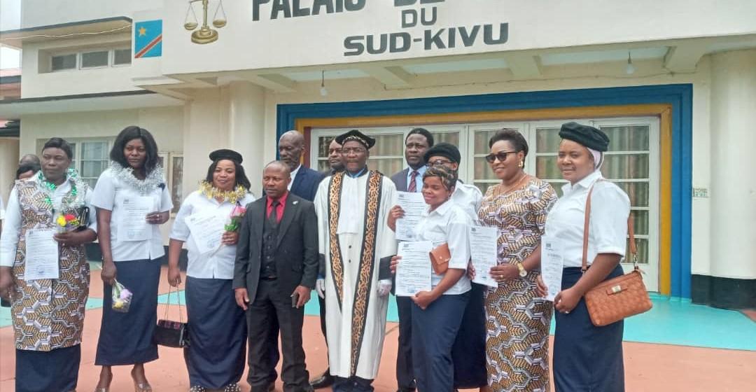 Bukavu : la division provinciale des mines se dote d'OPJ femmes