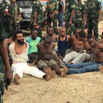 Miliciens arrêtés à Kisangani