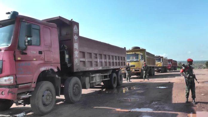 Kolwezi : les services saisissent 500 tonnes de minerais volés