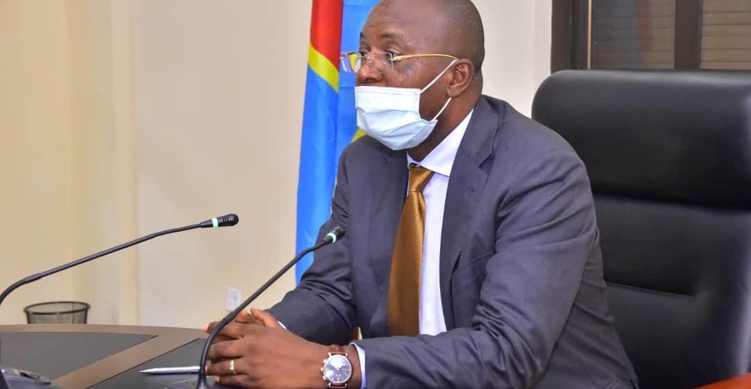 Gentiny Ngobila, gouverneur de la ville de Kinshasa
