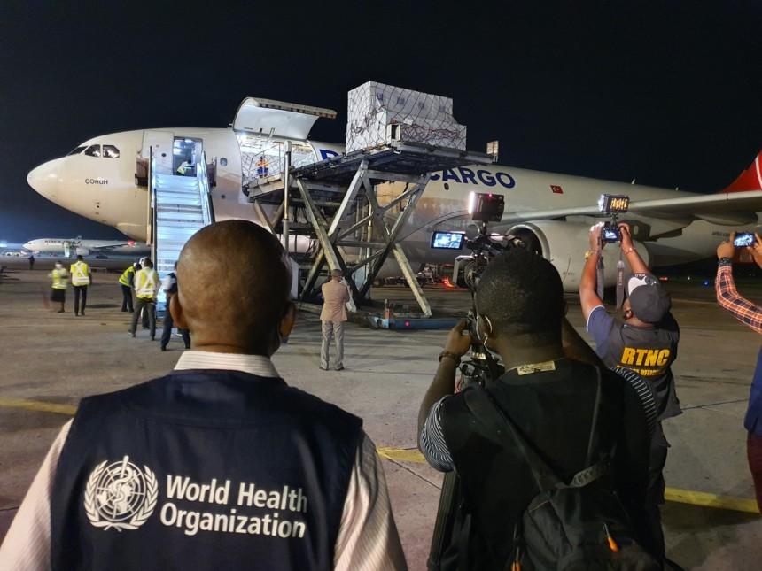 La RDC a réceptionné le premier lot de vaccin covid-19