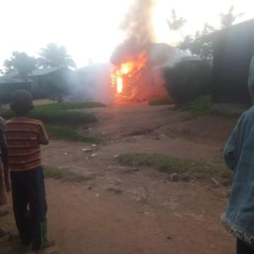 Beni maison incendiée