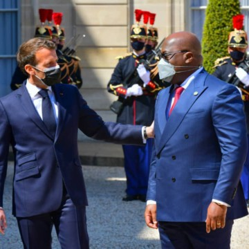 Félix Tshisekedi compte sur le soutien de la France pour mettre fin à l'insécurité à l'Est de la RDC
