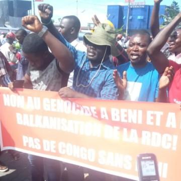 Goma :  la synergie des mouvements citoyens décrète deux jours sans activités pour dire non à la MONUSCO