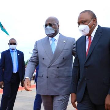 Diplomatie : Uhuru Kenyata en séjour à Kinshasa
