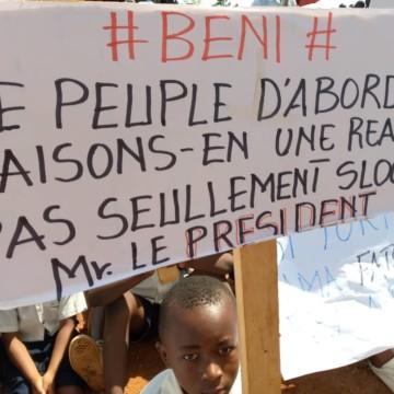 Beni : des voix s'élèvent pour demander un accueil digne au chef de l'État