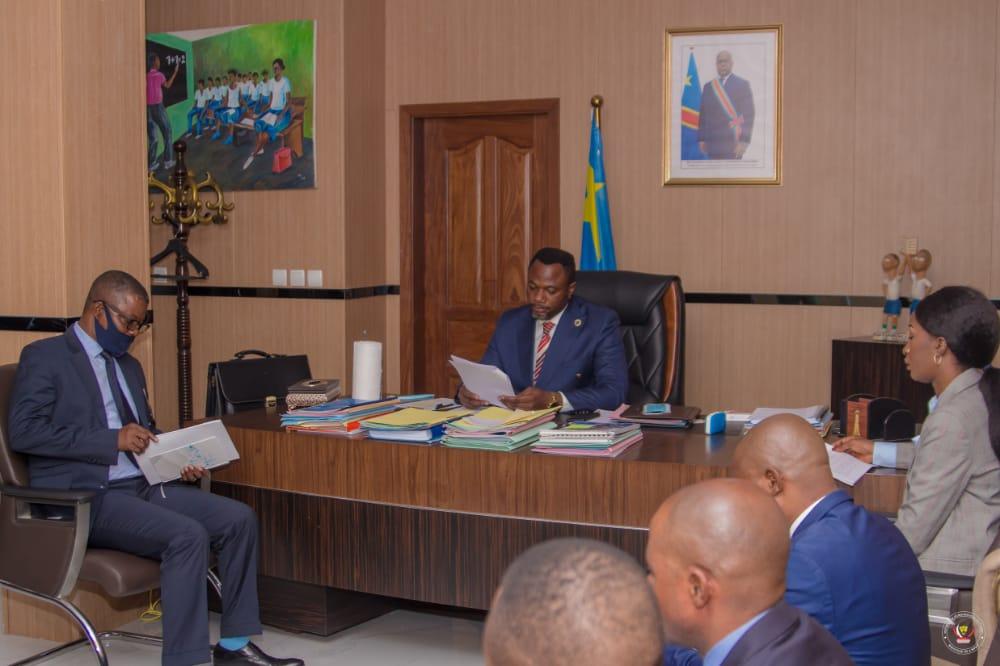 Tony Mwaba ministre EPST