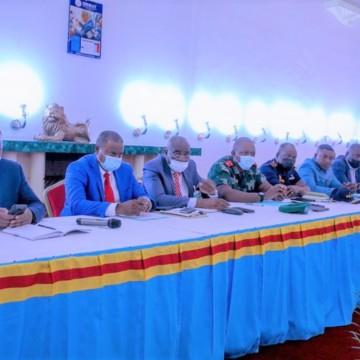 Haut-Katanga :  le 1er ministre Sama Lukonde a présidé la réunion du Conseil provincial extraordinaire de sécurité
