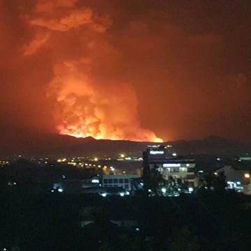 Goma: Le volcan Nyiragongo est entré en éruption