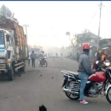 Goma : une manifestation de jeunes munis d'armes blanches étouffée par la police