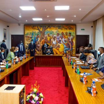 RDC-Volcan : le 1er Ministre a présidé la 1ère réunion du Cadre national de concertation humanitaire sur des priorités