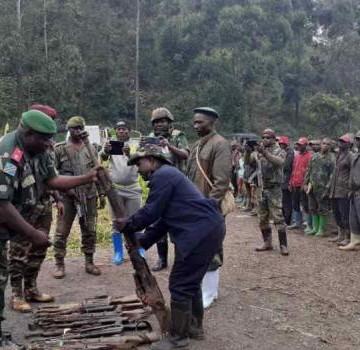 Nord-Kivu : 6 groupes armés s'engagent à déposer les armes à l'avènement de l'état de siège