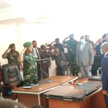État de siège : passation de pouvoir entre les gouverneur militaire et civil au Nord-Kivu