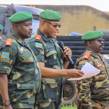 Beni : le général Mpuela Nkolito Bertin remplace Cirimwami à la tête du commandement des opérations Sukola1
