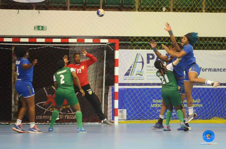 CAN Handball 2021 : Victoire des Léopards dames face aux Aigles du Nigéria 35-16