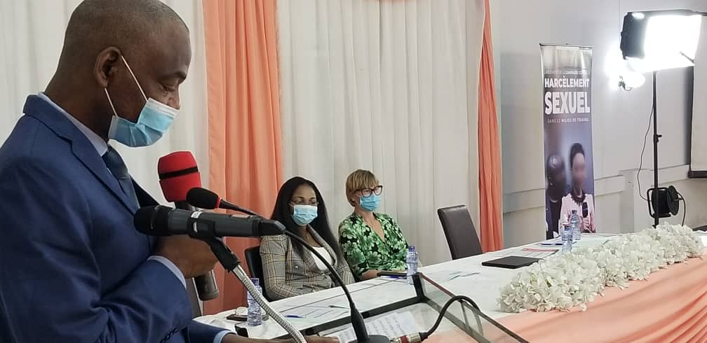 RDC : l'AC lance la campagne contre le harcèlement sexuel en milieu de travail
