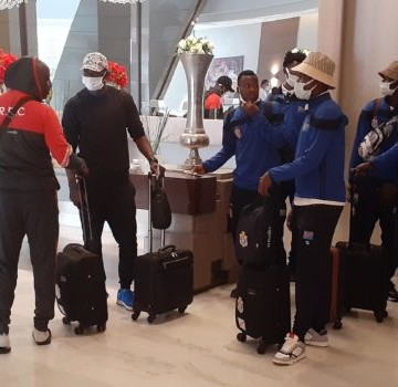Léopards : un deuxième groupe de 6 joueurs a rejoint l'équipe à Tunis