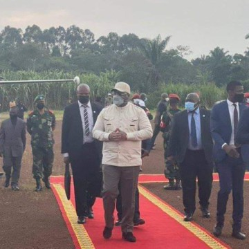 Nord-Kivu : Félix Tshisekedi accueilli en triomphe à Beni