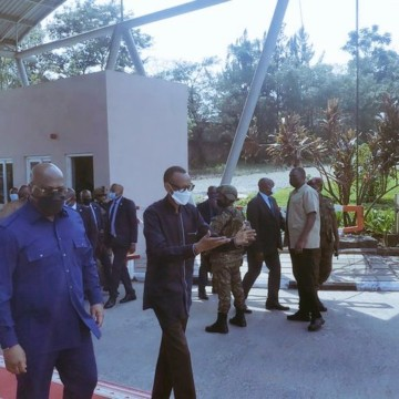 Félix Tshisekedi a rencontré Paul Kagame à Gisenyi