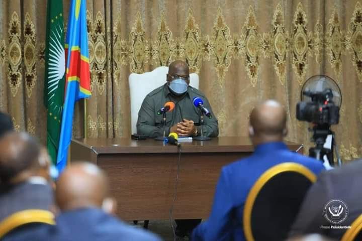 Félix Tshisekedi face aux sénateurs Usn