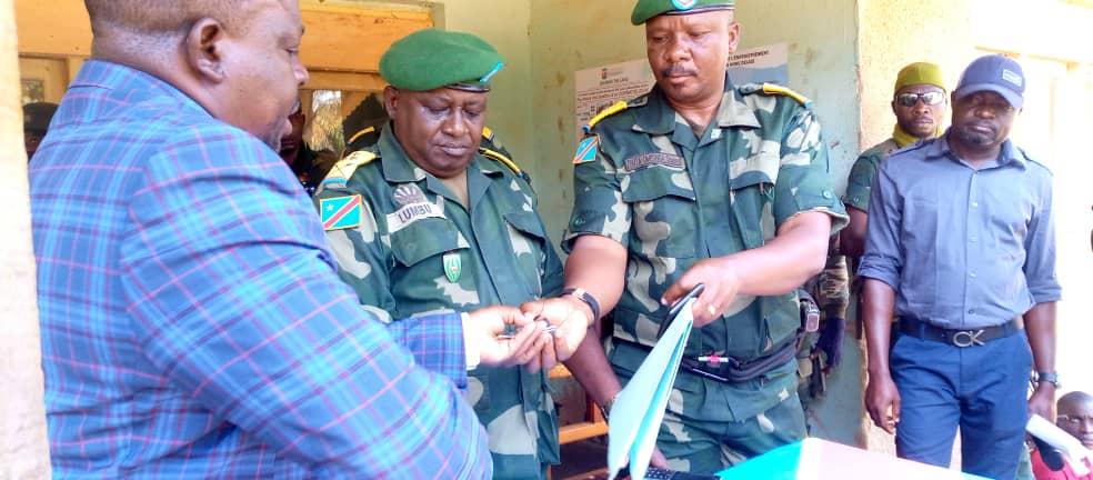 Beni : L'administrateur militaire a pris officiellement ses fonctions