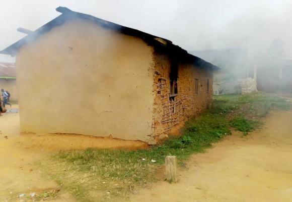 Ituri : Incendie criminel d'un bureau de la police de Biakato