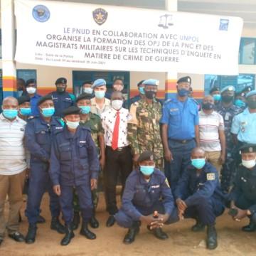 Beni : officiers de police et magistrats militaires garnison de Beni – Butembo à l'école du savoir