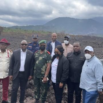 Des membres du Gouvernement en vadrouille à Goma