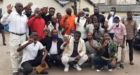 Kinshasa :16 militants de Lamuka libérés