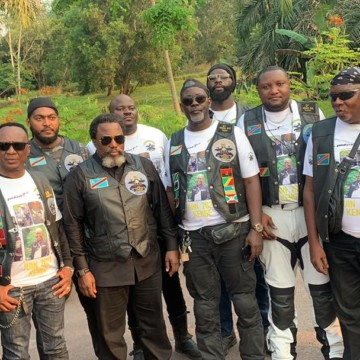 Les Motards de Kinshasa : un Club de joyeux drilles vrombissants