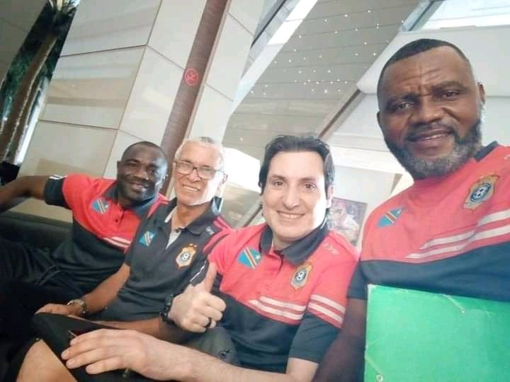 Staff Léopards RDC