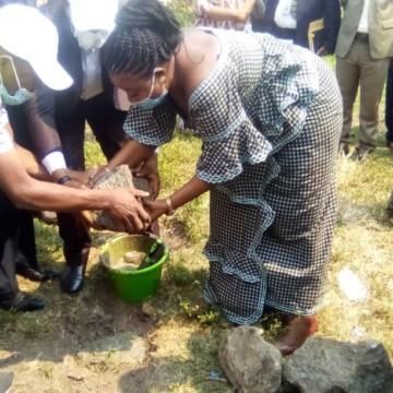 Kananga : construction d'une clinique ophtalmologique à Mulami Muimpe